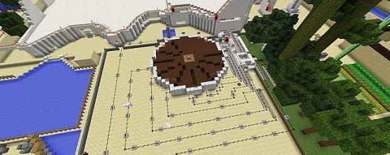 Карта Отеля Hotel Map для Minecraft
