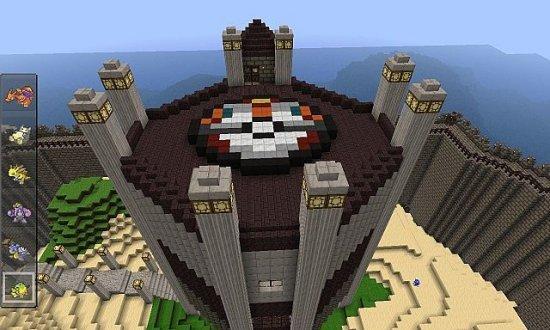 Minecraft Pixelmon World Map