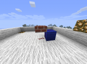 Redstone manual - placing wire 3