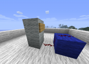 Redstone manual - placing wire 2