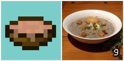Как сделать суп в майнкрафте из грибов