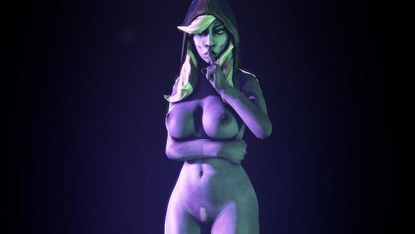 Naked drow ranger windranger adult pic